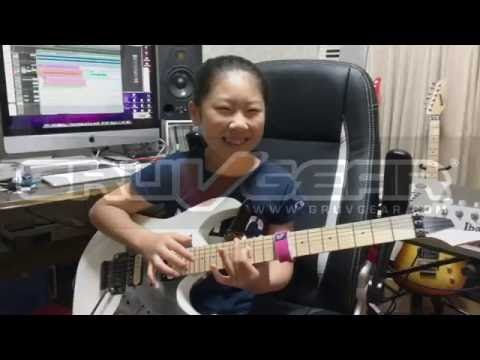 Li-Sa-X guitar tapping demo featuring FretWraps String Muters - YouTube