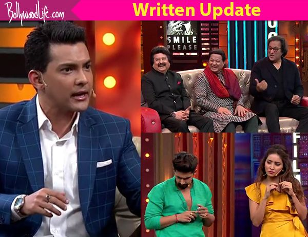 Entertainment Ki Raat starts with Pankaj Udhas, Talat Aziz and Anup Jalota welcoming us with a beautiful song. Aditya misunderstands the show and asks the people to vote for the singers. Later he takes the guests for a chat. Aditya asks Pankaj if his heart has been broken before,...