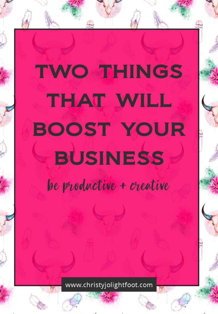 Two Things to Boost Your Business Now that you probably don't even think about. These two things will help you from the inside out! Click to read more!