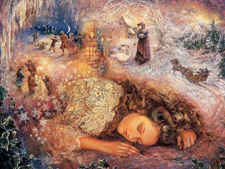 Картинки про вещие сны