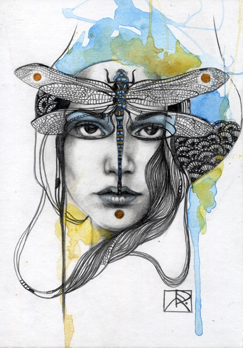 Animal Spirit Dragonfly by Patricia Ariel.  Ability to see the truth,  Power of flight , Understanding of dreams,  Breaking down illusions ,Swiftness, Change and transformation, Connection with nature spirits