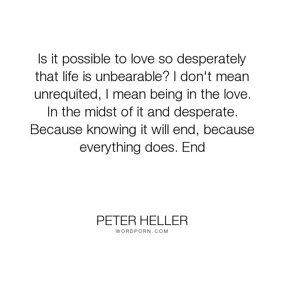 What is the meaning of unrequited love
