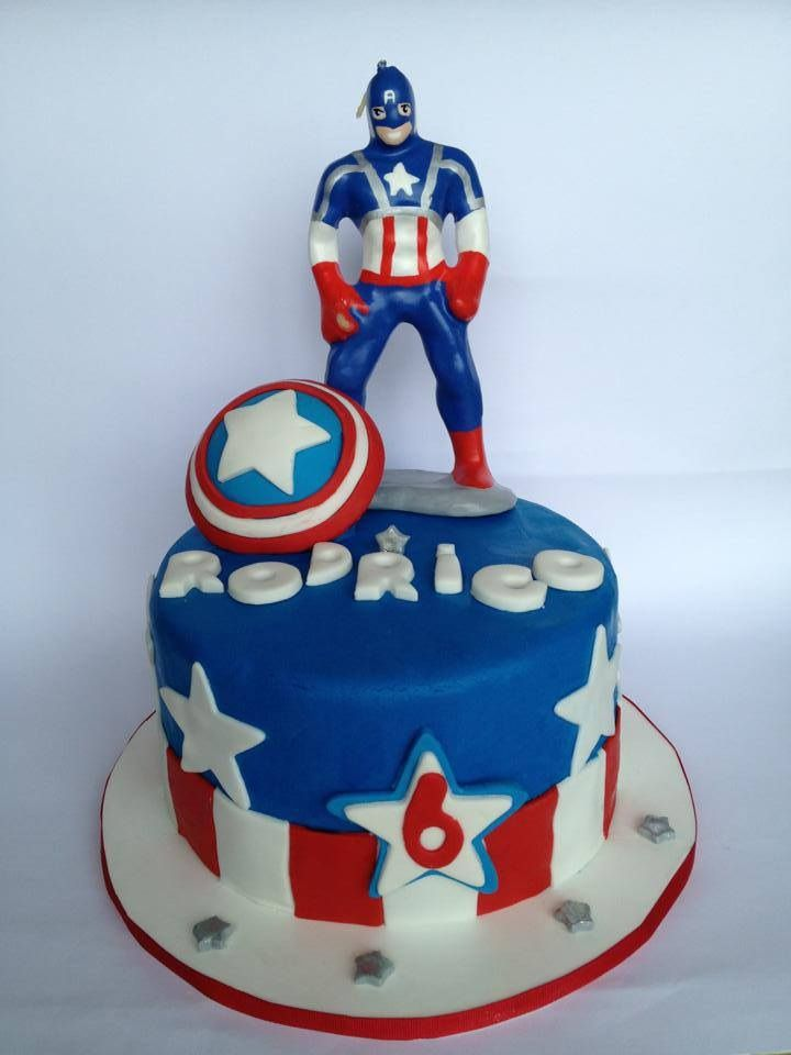 1000 Images About Fondant Captain America On Pinterest