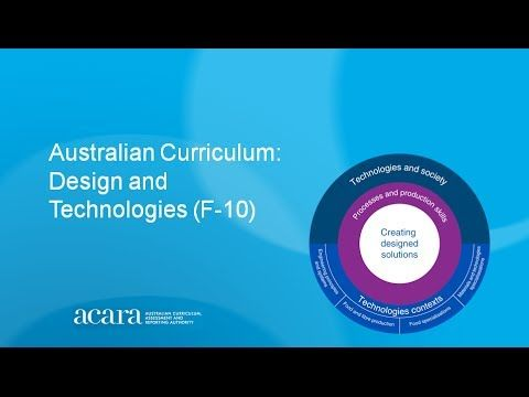 Design and Technologies: An Introduction - YouTube