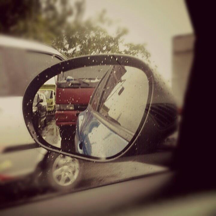 Enjoy the traffic jam of Jakarta