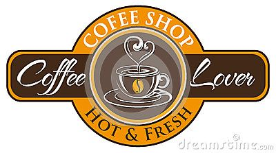 Vector, symbol for coffee lovers, very fitting for the iconic coffee shop.