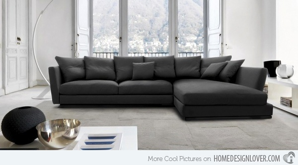 Nice contrast.. Great for a movie theater because of its nice bed to sofa type of design