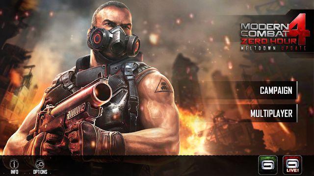 Modern Combat 4 Zero Hour Mod Apk 1 2 2e Unlimited Money Free Car Games Download Games Combat