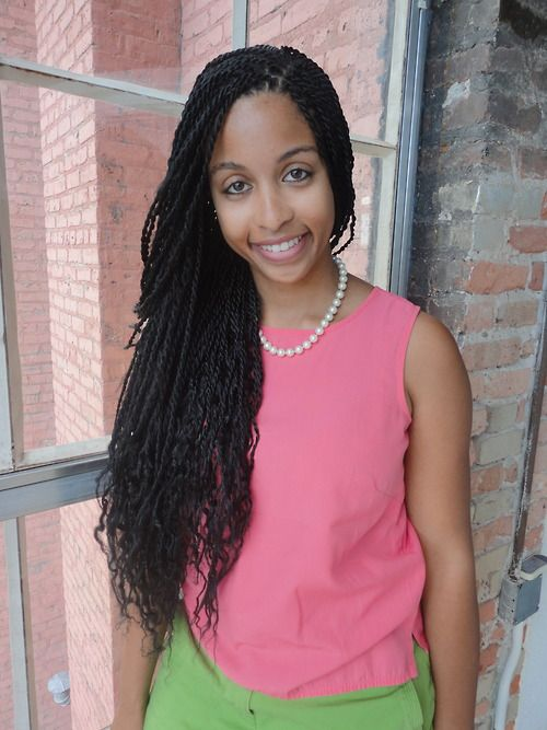 senegalese twist styles | Senegalese twists, my new love!!