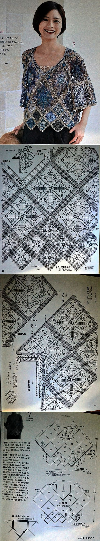 Кофточка из журнала Lets Knit Series № 80400.