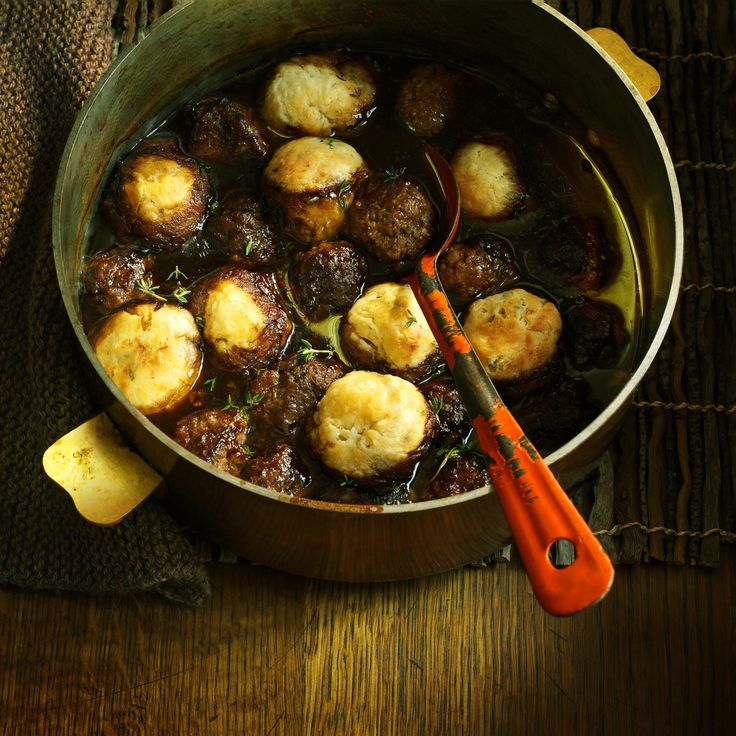 Make a pot of a beef meatballs in Guinness with horseradish dumplings for a bit of a kick. It will warm everyone up before the fireworks.