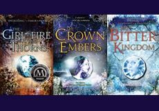 THE GIRL OF FIRE AND THORNS series