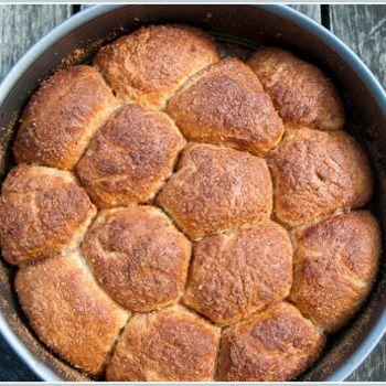 Zoete broodjes met kaneel
