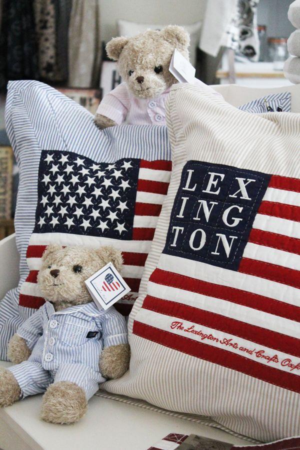 Lexington Teddybär bei home go lucky: www.homegolucky.com/serie/lexington-teddybaer