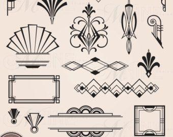 art deco logo generator - Google Search