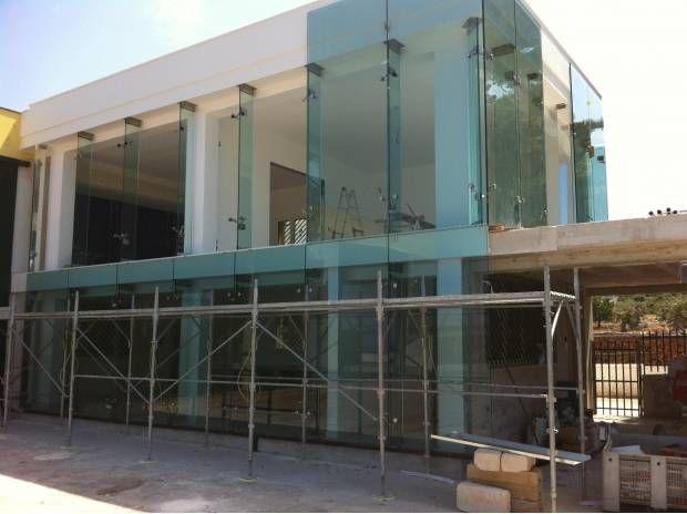 Fachadas en vidrio templado buscar con google - Fachadas de cristal ...