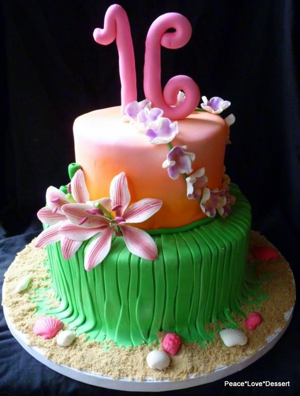 Plastic Umbrella Cake Decoration