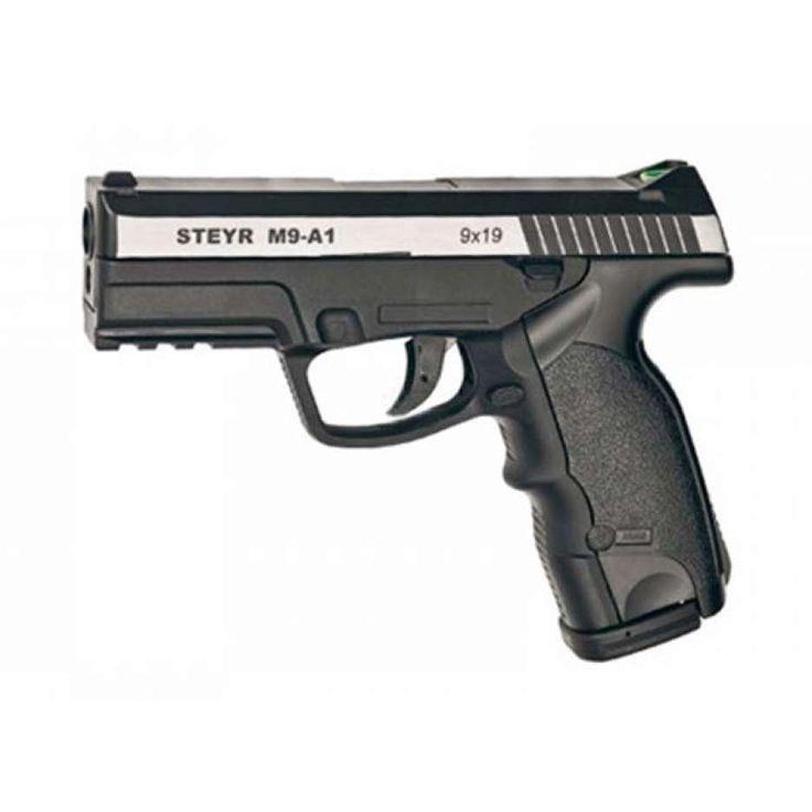 PISTOLA CO2 STEYR M9-A1 DUAL PACK SPRING 2012   Steyr Mannlicher Co2   Pistolas CO2   PISTOLAS E REVOLVERES