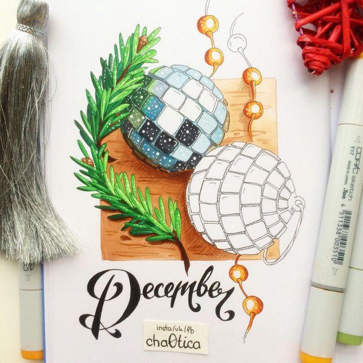 Новогодние открытки фломастерами, поздравления