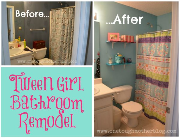 Tween Bathroom Remodel