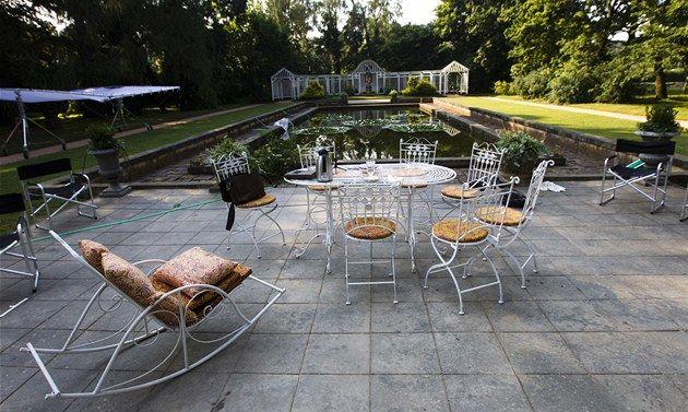 Zahrada vily Čerych