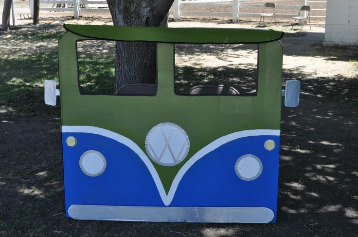 Vw Bus Quot Photo Booth Quot Me Amp My Girl Made Out Of A Very Large