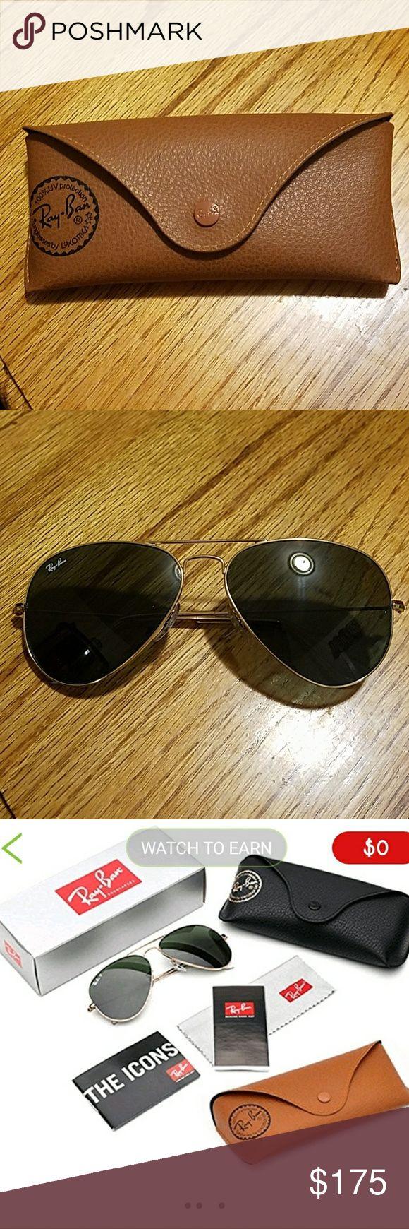 Ray Ban 3025 Aviator Non mirrored Non Polarized Classic Aviators Ray-Ban Accessories Sunglasses