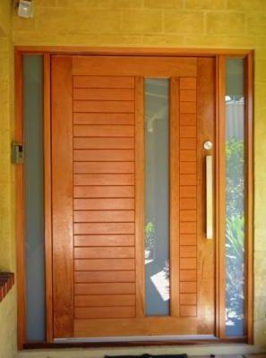 Pivot door, Solid Cedar
