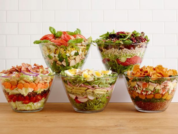 Learn to make a layered salad for any season!