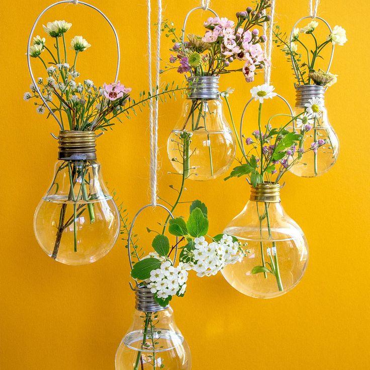 10 Wonderful DIY Wall Vase Decor