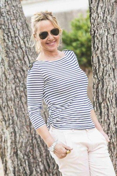 Rosa y azul marino, una buena combinación para la primavera!! #streestyle #style #moda #blogger #tendencias