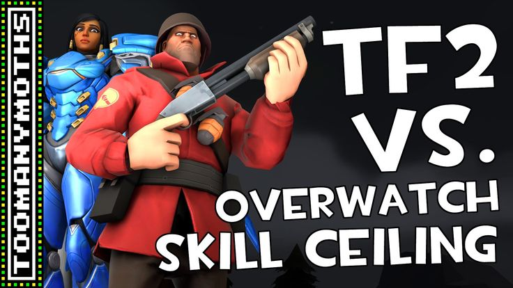 TF2 Skill Ceiling Vs. Overwatch Skill Ceiling - MatPat Game Theory Reaction | TooManyMoths #games #teamfortress2 #steam #tf2 #SteamNewRelease #gaming #Valve