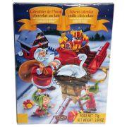 Joulun odotus sujuu mukavammin suklaajoulukalenterin avulla. 24 luukkua ja jokaisessa pieni, suklainen yllätys. Tule Joulu kultainen..