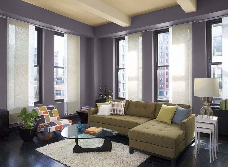 Best 25+ Purple living room paint ideas only on Pinterest Purple - paint colors for living room walls with dark furniture