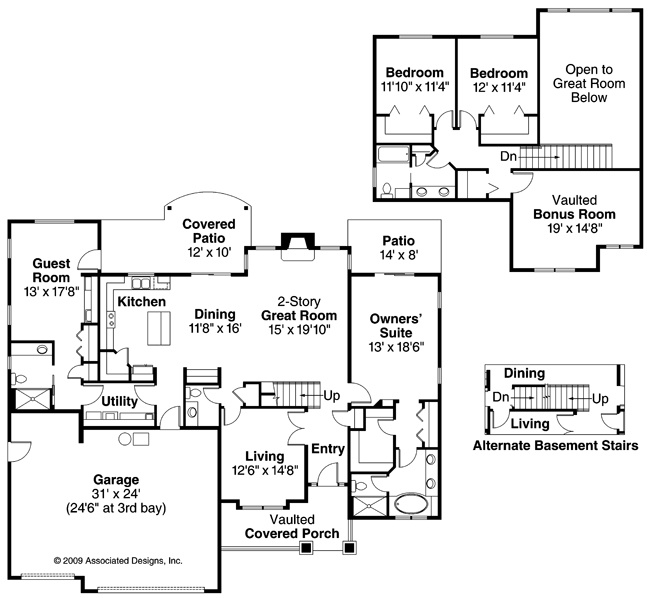 21 best 4 Bedroom House Plans images on Pinterest Floor plans