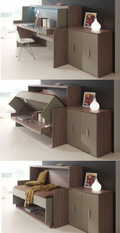 Opklapbed-Bureau Flat - met opklapbed_ruimtebesparend_functioneel_kamer_met_extra_bed_slaapkenner_Theo_Bot_4