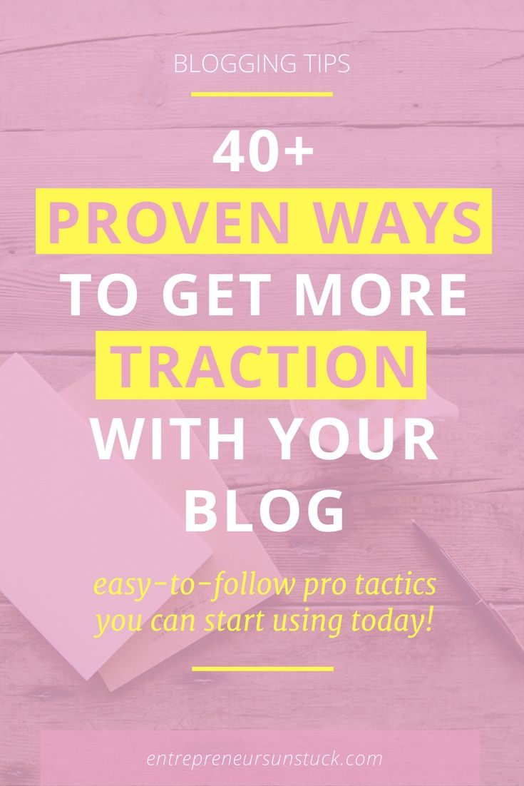Feeling overwhelmed by all the blogging tips you find? Here's an easy-to-follow list of fail-proof tips that successful bloggers and entrepreneurs use to explode their blog traffic.