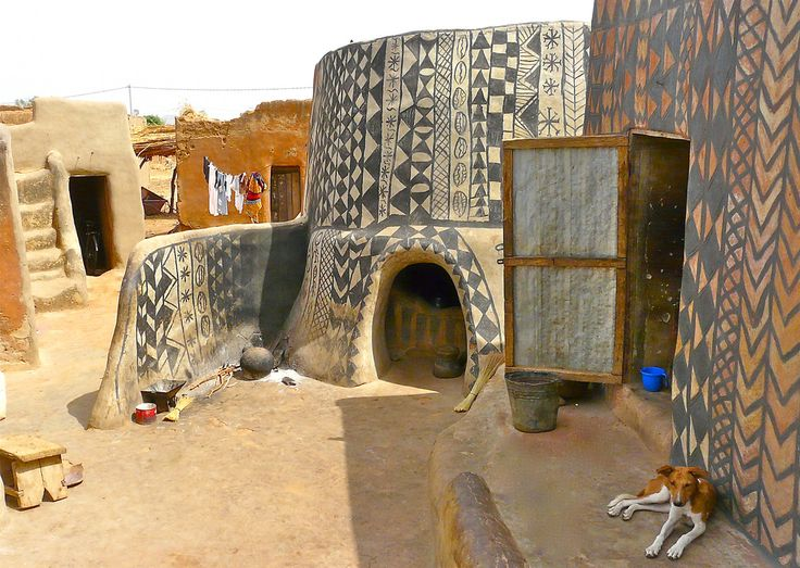 Burkina Faso is by no means an area frequented by tourists, but at the base of a hill overlooking the surrounding sun-drenched West African savannah lies an e