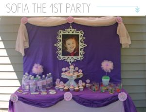 seven thirty three - - - a creative blog: Sofia the First {Birthday Party}  I love these ideas!