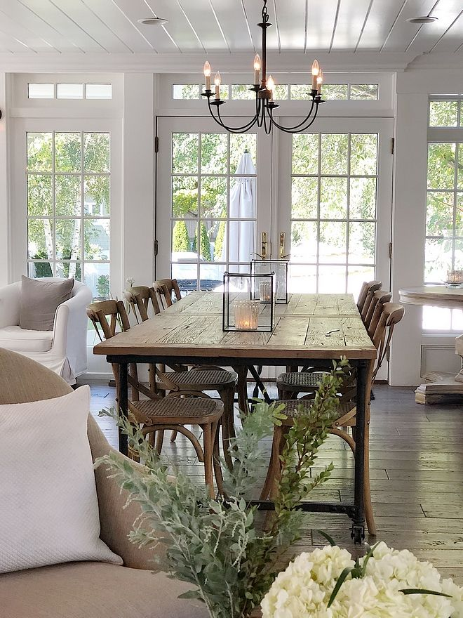 Beautiful Homes Of Instagram New England Home Casual Dining Rooms Open Dining Room Farmhouse Dinning Room