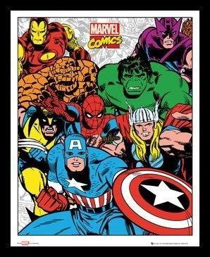 Marvel 40x50- NEW