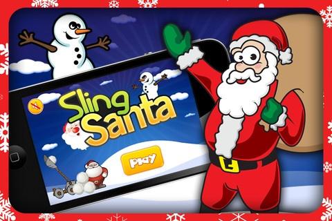 https://itunes.apple.com/us/app/sling-santa/id581646092?mt=8