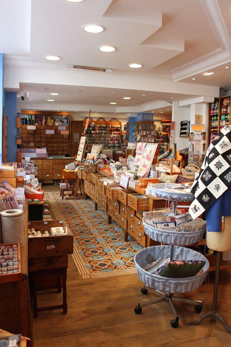 Sajou Paris, une mercerie exceptionnelle Sajou Paris shop an exceptionnal…