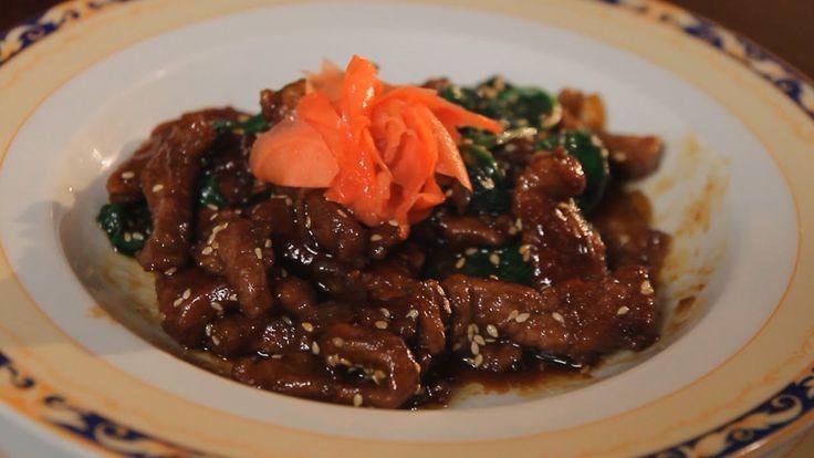 Любимое блюдо Брюса-Ли. Говядина по-китайски. Рецепт от шеф-повара