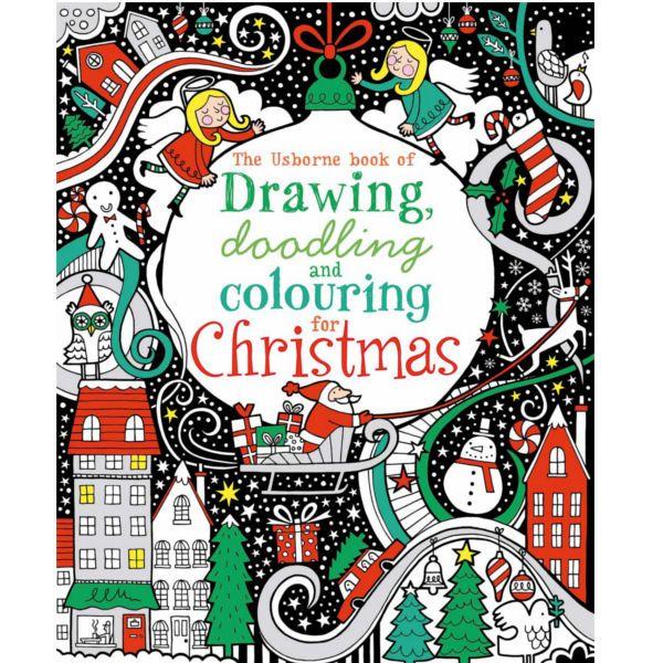 Υπάρχουν πολλά να σχεδιάσεις, (doodle)* και να χρωματίσεις σε αυτό το δημιουργικό βιβλίο γεμάτο με υπέροχες Χριστουγεννιάτικες σκηνές. Περιλαμβάνει μια εκπληκτική ποικιλία δραστηριοτήτων, από ευχάριστες εικόνες για να χρωματιστούν μέχρι τα doodle starters από όπου τα σχέδια μπορούν να μεγαλώσου ...