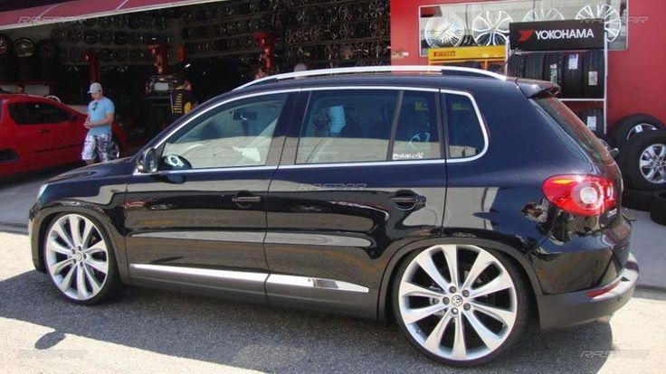 "Volkswagen Tiguan 2011 com rodas   aro 22""  foto 3"