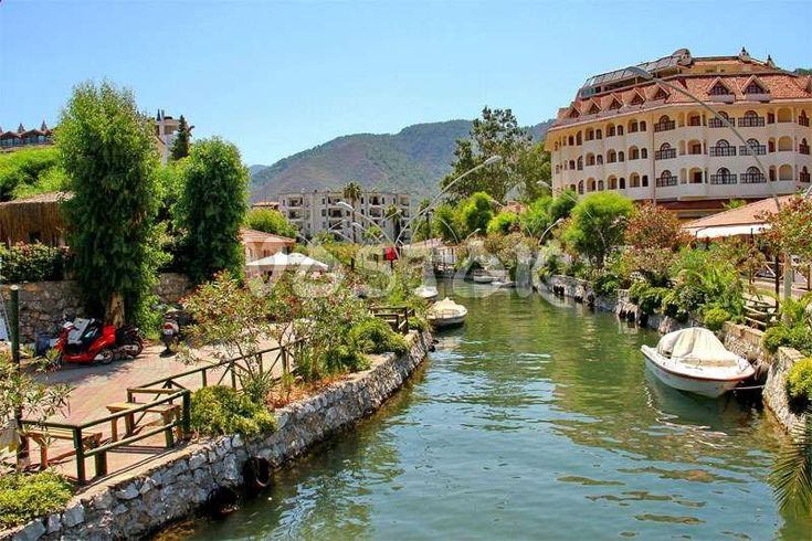 Channels in Icmeler Turkey http://www.traveltofethiye.co.uk/explore/attractions/marmaris-icmeler-resort/