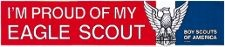 Eagle Scout Bumper Sticker