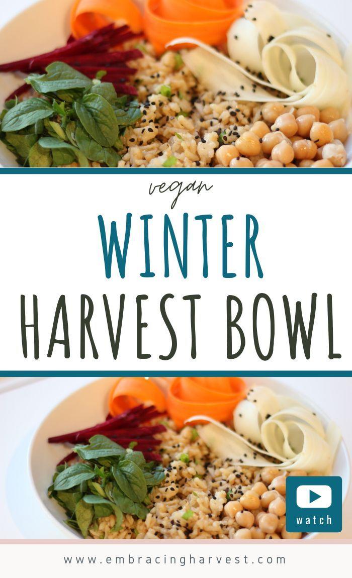 Winter Harvest Bowl Recipe Using Mache Lettuce Embracing Harvest In 2020 Vegan Recipes Healthy Autumn Salad Recipes Vegan Winter Recipes