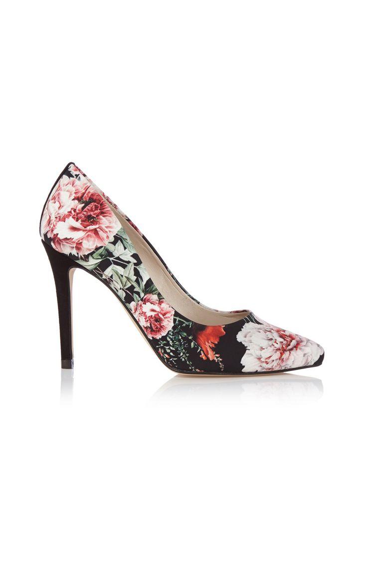 Туфли с цветочным принтом Karen Millen. Цвет , купить за 6574р в официальном интернет магазине KAREN MILLEN с доставкой по России
